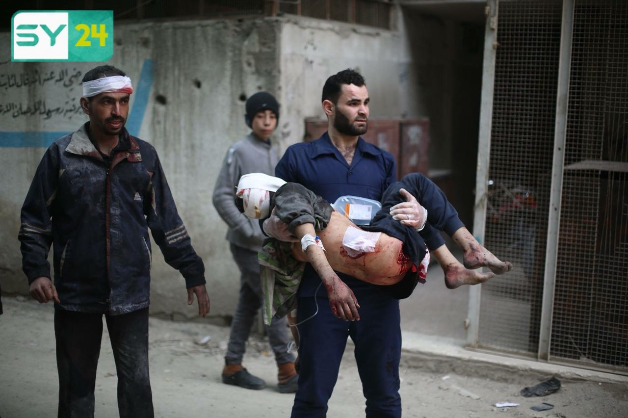The Douma LC suspended its work indefinitely, following the shelling of its headquarters by the regime air force.