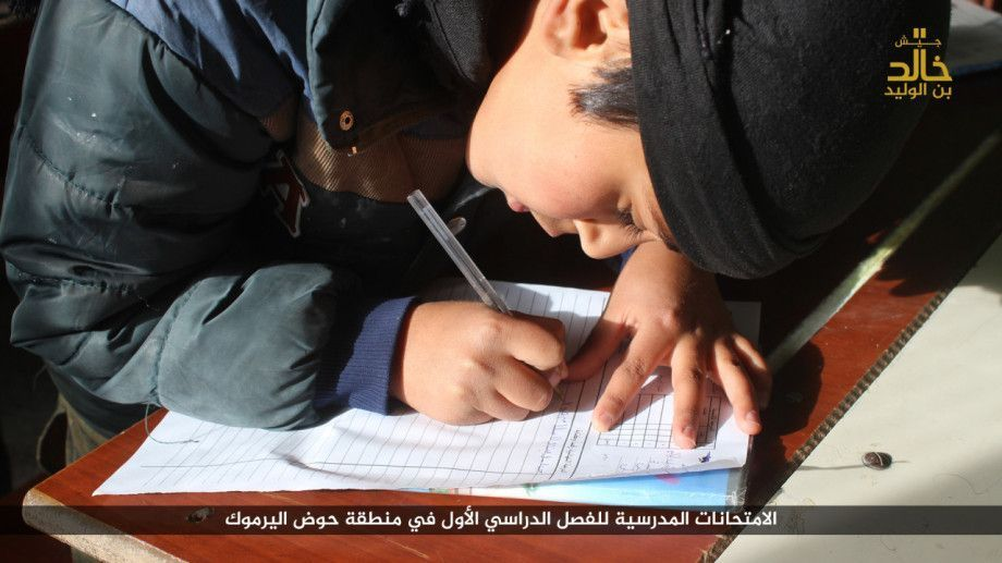 ISIS Rolls Out New Educational Curriculum in Daraa
