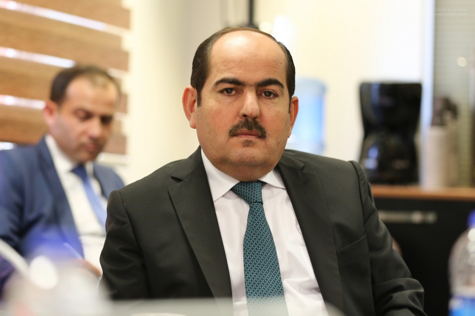 Vice-president of the Syrian Coalition Abdul Rahman Mustafa