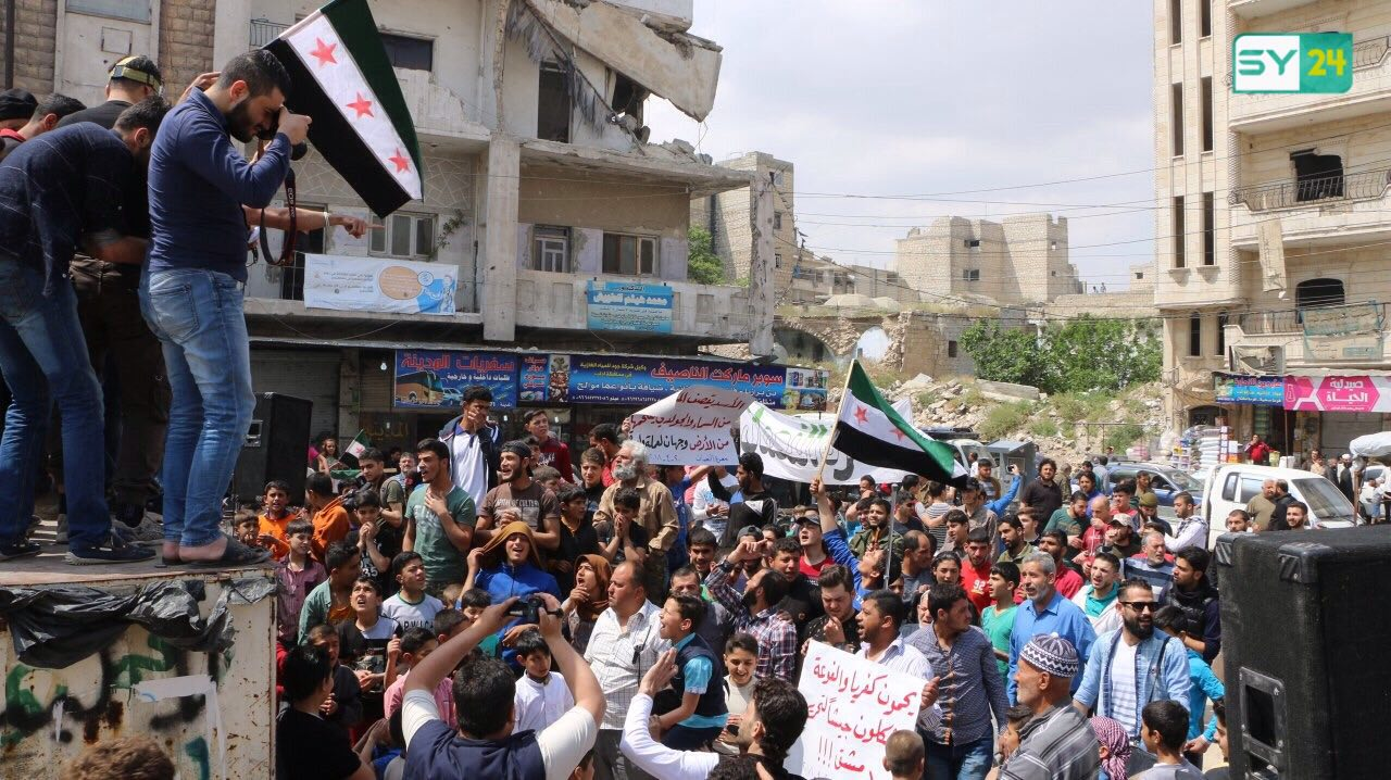 Maarat al-Numan Rises Up Against Assad and al-Julani